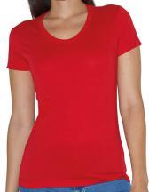 Women`s Poly-Cotton Crew Neck T-Shirt