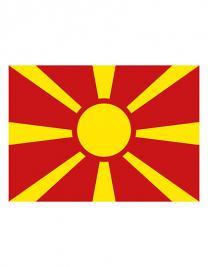 Fahne Mazedonien